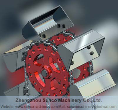 Bucket Elevator, Chain Ring Type Bucket Elevator