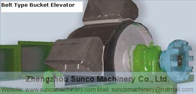 Bucket Elevator, Belt Type Bucket Elevator