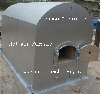 Hot Air Furnace For Chicken Manure Dryer Sunco Machinery
