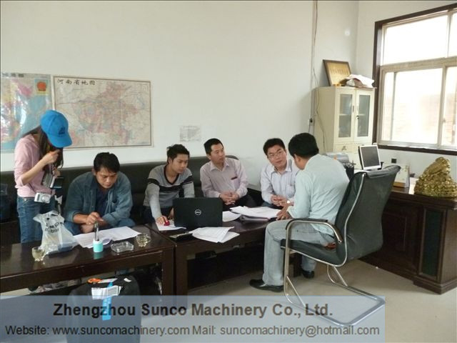 Thailand Chicken Manure Drying Machine Customers 01