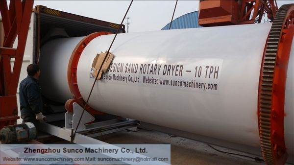 Sand Drying Unit, Sand Dryer, Sand Drying Machine