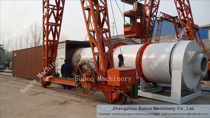 5 Tons Per Hour Sand Drying Unit, sand dryer