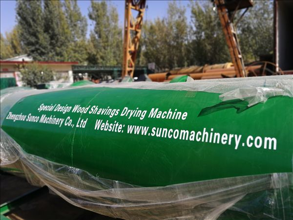 Jamaica Wood Shavings dryer, rotary drum wood shavings dryer, wood shavings drying machine