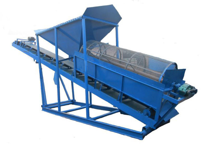 Sand Sieving and Conveying Intergrated Machine