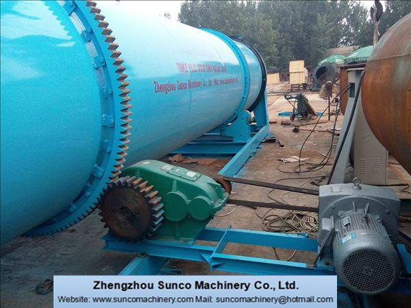 Description of Inner 7 chamber & trip pass rotary drum dryer