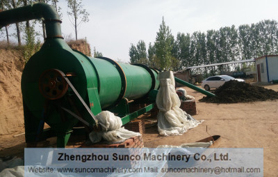Poultry Manure Rotary Dryer Machine, chicken manure dryer