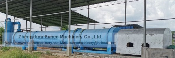 Manure Dryer Machine for drying chicken manure